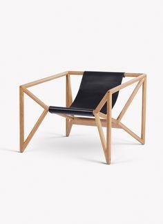M3 Loungechair by Thomas Feichtner for Neue Wiener Werkstaette