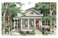My favorite house plans... Small... downsized... and exactly what I would want.