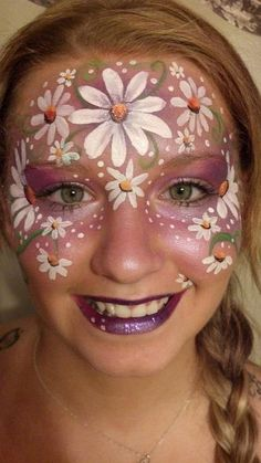 On of my Face paint designs www.facebook.com/facepaintnj