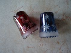 glass thimbles -