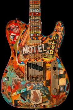Learn to play the electric guitar using these easy to understand guidelines. Trying to play a guitar is simple to understand, and may open up a lot of musical doors. Guitar Painting, Guitar Art, Music Guitar, Cool Guitar, Playing Guitar, Unique Guitars, Custom Guitars, Fender Electric Guitar, Bass Ukulele