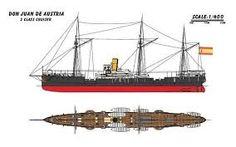 Crucero Don Juan de Austria. Batalla de Cavite.