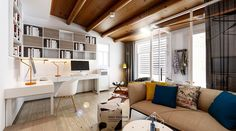 3 Open Layout Apartments That Use Clever Space-Saving Techniques
