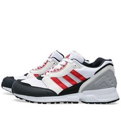 Adidas zx 750 uomini scarpe casual atletico scarpe blu rosso - nero
