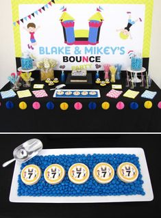 Bounce House Birthday Party Party Ideas Pinterest Bounce