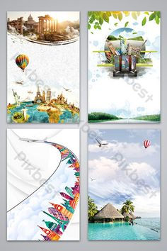 Map Background, Background Templates, Background Images, Tourism Day, Green Art, Watercolor Design, Advertising Design, Sign Design, Travel Posters