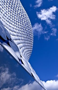 Birmingham's Selfridges store.  Eye-catching and dynamic architecture in the heart of the city.