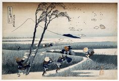 Katsushika Hokusai - Ejiri in Suruga Province - 1830-33