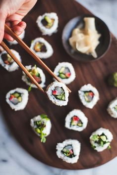 Unusual dinner idea: make your own DIY sushi at home! Satisfy your own taste.