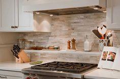 Kitchen Design, Kitchen Ideas With Marble Tile Backsplash Neutrals: Increase Cooking Experience With Fascinating Kitchen Backsplash Ideas Kitchen Inspirations, Kitchen Tiles Backsplash, Traditional Kitchen, Kitchen, Neutral Kitchen, Kitchen Design, Kitchen Backsplash Designs, Kitchen Remodel, Neutral Kitchens Decor