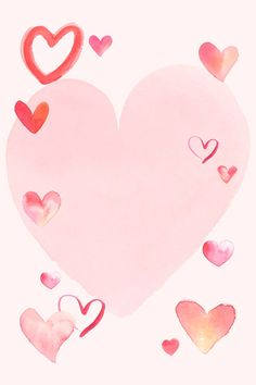 Heart Shaped Frame, Heart Frame, Cute Canvas, Instagram Story Ideas, Free Illustrations, Watercolor Illustration, Royalty Free Photos, Free Images, Vector Free