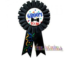 Groom to Be Guest of Honor Ribbon (1ct)
