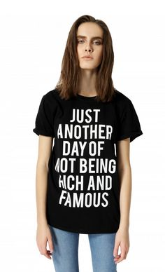 Not Rich and Famous http://shop.nylon.com/collections/whats-new/products/not-rich-and-famous