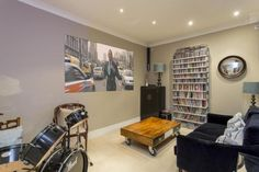 a flat in Hazlewell Road, Londonthat I helped convert from to 3 with basement snug and 2 bathrooms Basements, Snug, Bathrooms, Conference Room, Flat, Table, Furniture, Home Decor, Bass