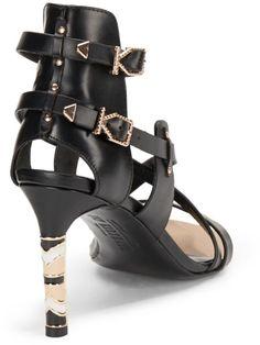 Ivy Kirzhner Delphic Leather Ankle Strap Sandal   $99.95  Compare at $395.00