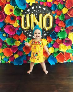 Fiesta | Party Decor | Flowers | First Birthday | Uno
