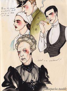 love Downton Abbey
