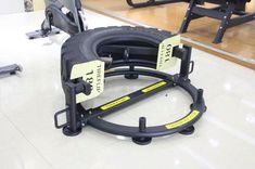 Full Commercial Tyre Flip Machine. Tyre Flip this tyre 180 degrees, Add Weight Plates to increase weight of tyre.