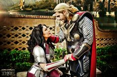 Thor & Lady Sif (feat. L.A. Jaze Cosplay)