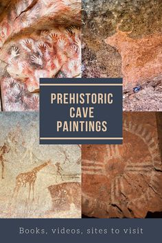 Learn about early human cave paintings! These books, videos, and sites to visit give us a glimpse into the nomadic lifestyle of early humans. World History Lessons, History For Kids, Art History, Ancient History, Ancient Art, Ancient Egypt, Art Activities For Kids, Art For Kids, Learning Activities