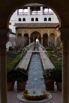 Generalife Gardens in Spain