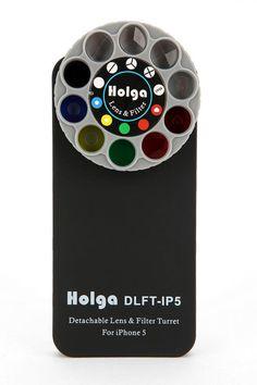 Holga Lens & Filter iPhone 5 Case on Wanelo