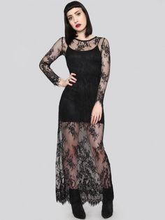 Coven Lace Maxi Dress - Gypsy Warrior