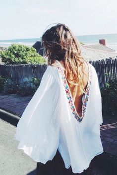 Beach cover up.