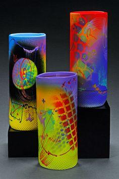 Michael Kifer | Colourful Clay Vessels