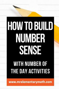Interactive Number of the Day activities for building number sense. Great for math warm ups! Expanded Notation, Number Sense Activities, Classroom Routines, Math Manipulatives, Word Pictures, Elementary Teacher, Teaching Tips, School Ideas, Told You So