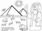 Lots of Moses coloring page - Exodus