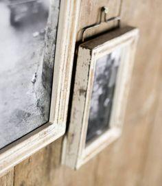 marco vintage de madera