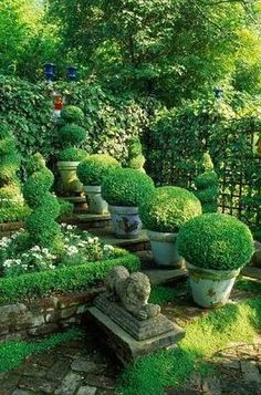 Around this time of year I begin to crave greenery. These gardens I have posted on my Pinterest board entitled Garden ...