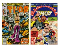 Today's Comic Cover - The Mighty THor 279 ( 1978 ) and the Dutch Marvel Special Version