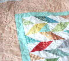 How to quilt flowers