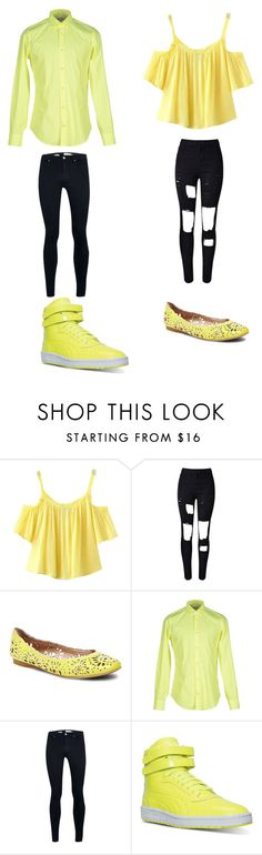 """""""Untitled #329"""" by kassidyrobinson on Polyvore featuring Chicnova Fashion, WithChic, Steve Madden, Mauro Grifoni, Topman and Puma"""