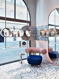 Youth Jewelry Salon in London. on Behance: Youth Jewelry Salon in London. on Behance Source by sharlykov Commercial Interior Design, Shop Interior Design, Retail Design, Interior Design Inspiration, Interior Decorating, Design Shop, Interior Ideas, Design Ideas, Shop Interiors