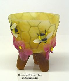 Marsh Mallow Honey by Ellen Abbott & Marc Leva ---one of my favorite pieces of Ellen and Marc