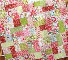Busy Baby Three Quilt by CarleneWestberg on Etsy
