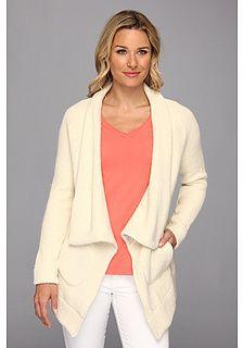 Mod-o-doc Honeycomb Knit Shawl Collar Coat on shopstyle.com