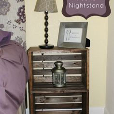 Diy Rustic Nightstand-make Your Own For About $15!
