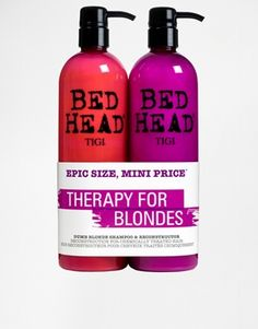 If you're a BLONDE BOMBSHELL make sure you give your hair some LOVE! : http://www.asos.com/Tigi-Bed-Head/Tigi-Bed-Head-Limited-Edition-Dumb-Blonde-Tweens-Duo-SAVE-40/Prod/pgeproduct.aspx?iid=5055293&affid=14242&channelref=social+campaigns