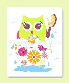 bathroom owl - Pesquisa Google
