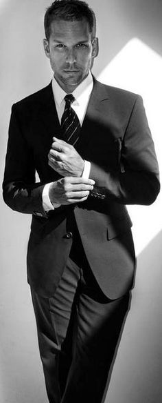 Tailored suits. <3