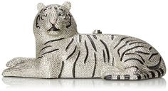 kate spade new york Place Your Bets Tiger Clutch Multi, One Size