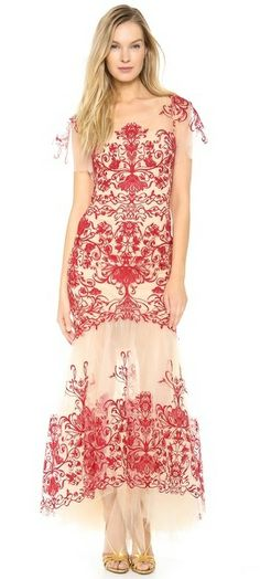 Notte by Marchesa Fully Embroidered Gown on http://stylecom.shopstyle.com