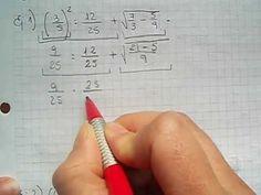 Como resolver ejercicios combinados con fracciones. Mica