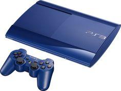 Super slim PS3 in Azurite Blue