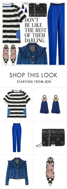 """Oh Darling..."" by teoecar ❤ liked on Polyvore featuring Joseph, Rebecca Taylor and Boutique Moschino"