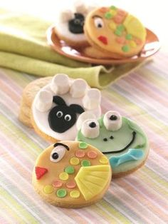 Animal Cookies - so cute and perfect for kids parties!